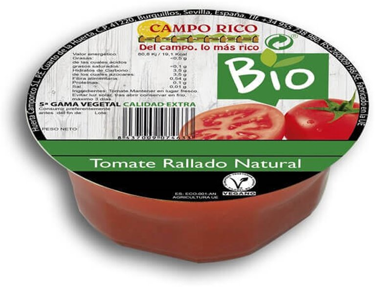 Tomate rallado 300 g - Campo Rico