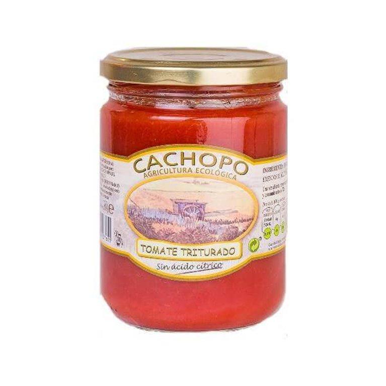 Tomate triturado BIO - 445 cc - Cachopo