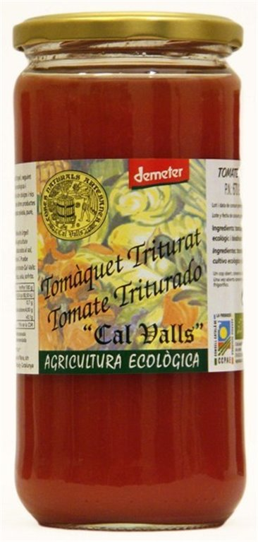 Tomate triturado demeter, 1 ud