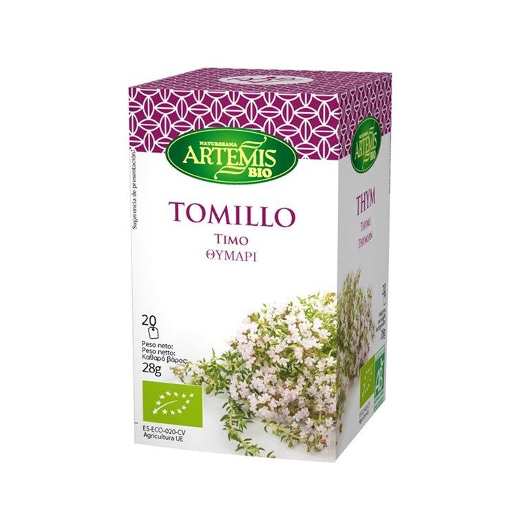 Tomillo Infusión Eco Artemis 20 Filtros