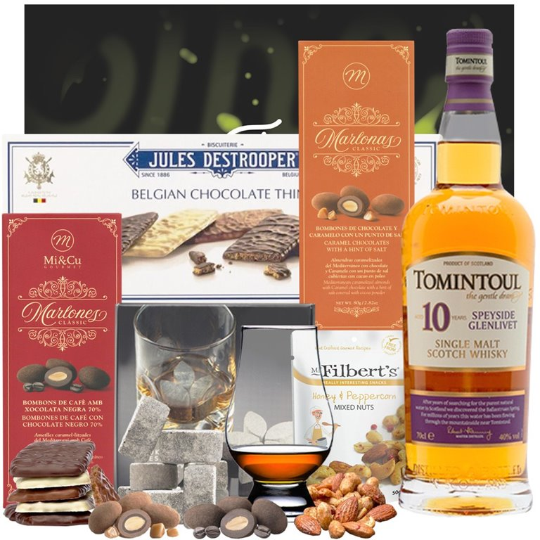Tomintoul 10 Años Whisky Box