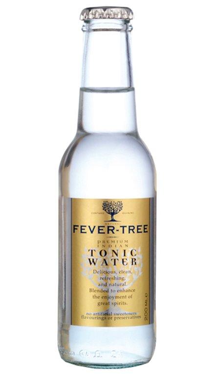 Tonica Fever Tree (caja de 24 Botellines)