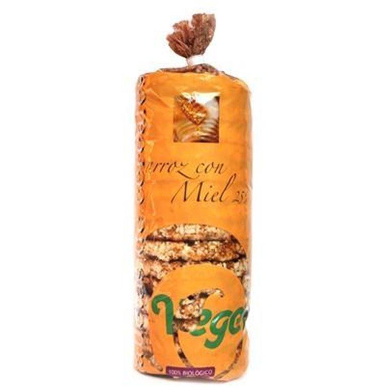 Tortas de Arroz Integral Bañadas con Miel Sin Gluten Bio 250g