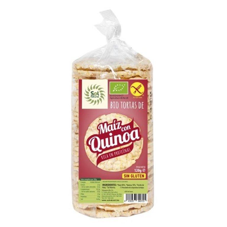 Tortitas de Maíz con Quinoa Sin Gluten Bio 120g