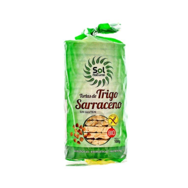 Tortas de trigo sarraceno 100%, 100 gr