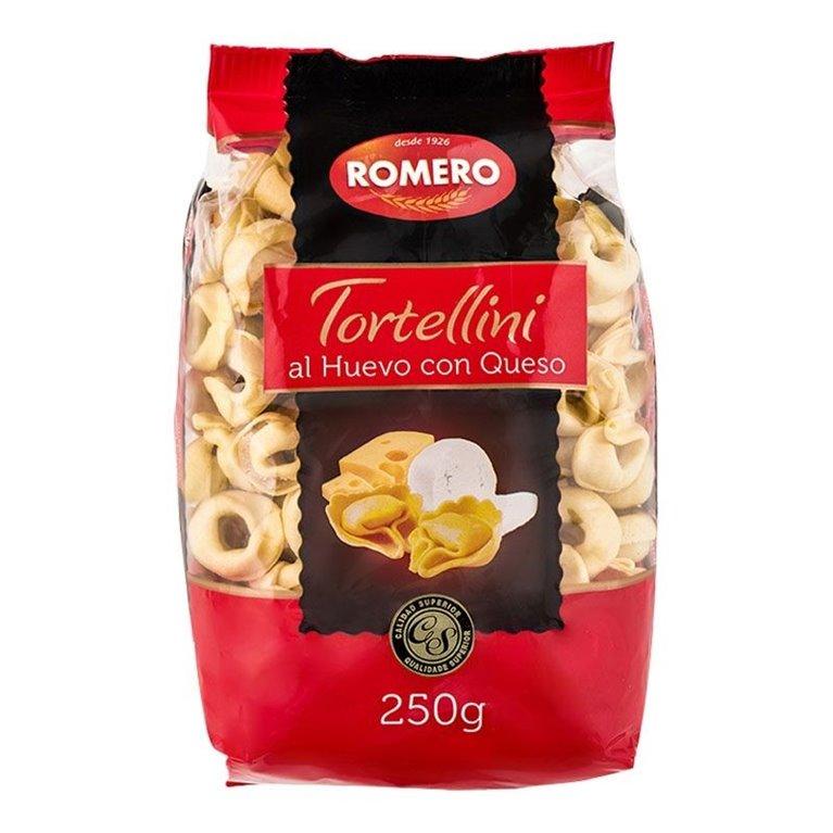 Tortellini con queso Pastas Romero