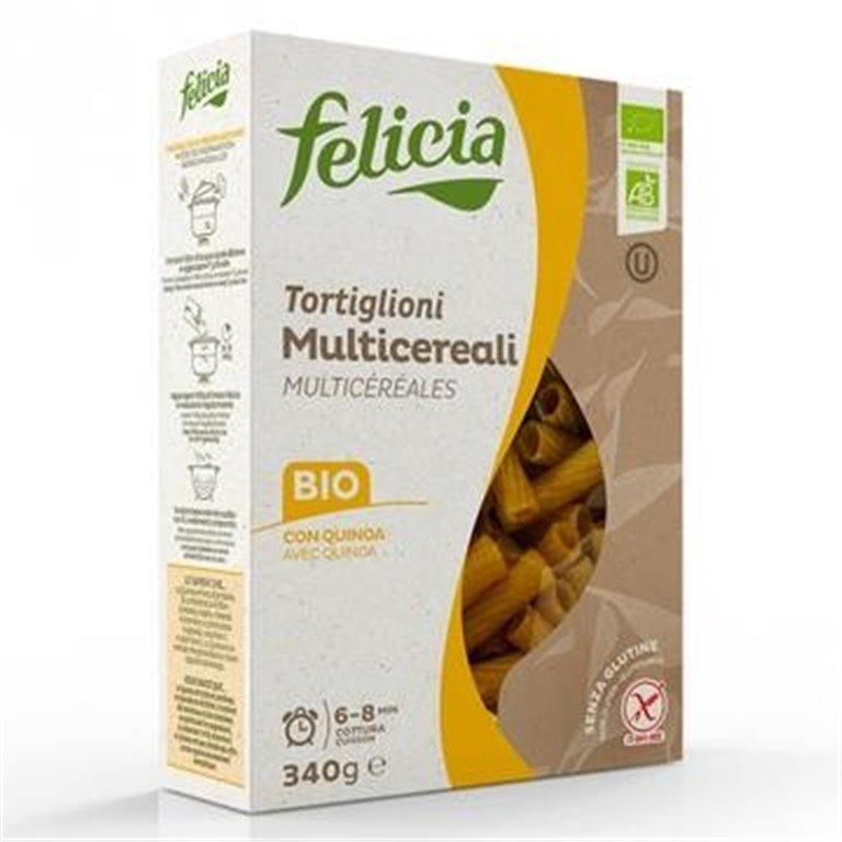 Tortiglioni Multicereales Sin Gluten Bio 340g