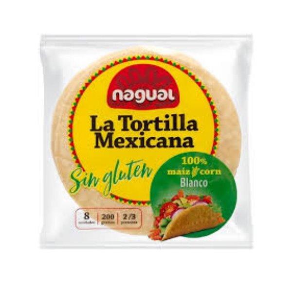 Tortillas Mexicanas de Maíz Sin Gluten 200g