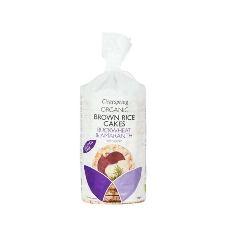 Brown Rice Pancakes Buckwheat and Amaranth Gluten Free Bio 120g
