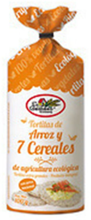 Tortitas de arroz con 7 cereales, 100 gr