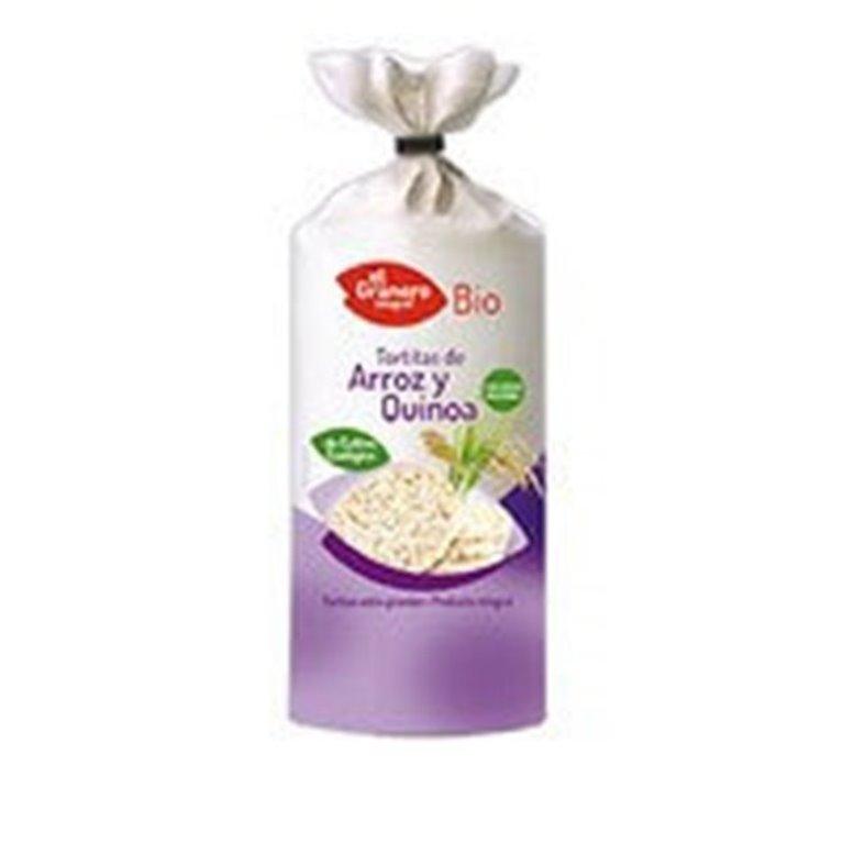 Tortitas de arroz con quinoa, 100 gr