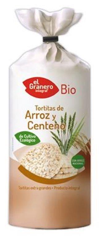 Tortitas de Arroz Integral y Centeno Bio 140g