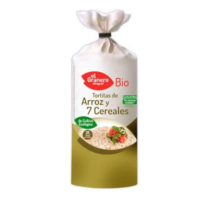Tortitas de Arroz y 7 Cereales Bio 120g