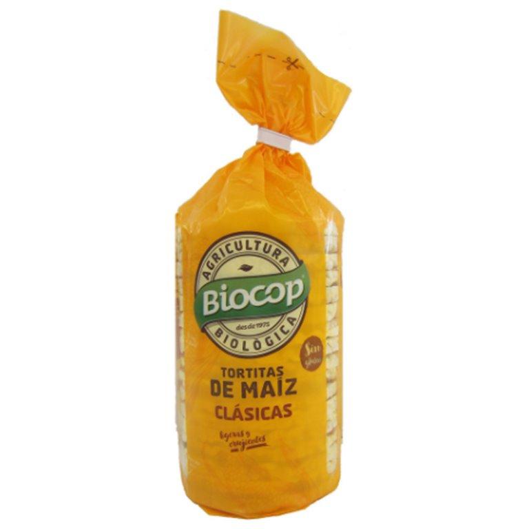 Tortitas de Maíz Clásicas Sin Gluten Bio 120g