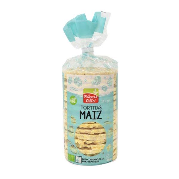 Tortitas de Maíz con Sal Sin Gluten Bio 120g