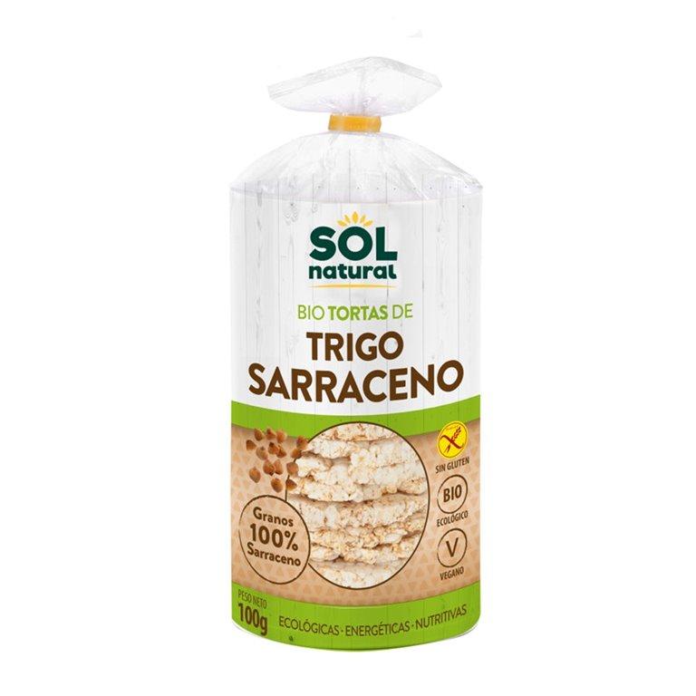 Tortitas de Trigo Sarraceno Sin Gluten Bio 100g, 1 ud