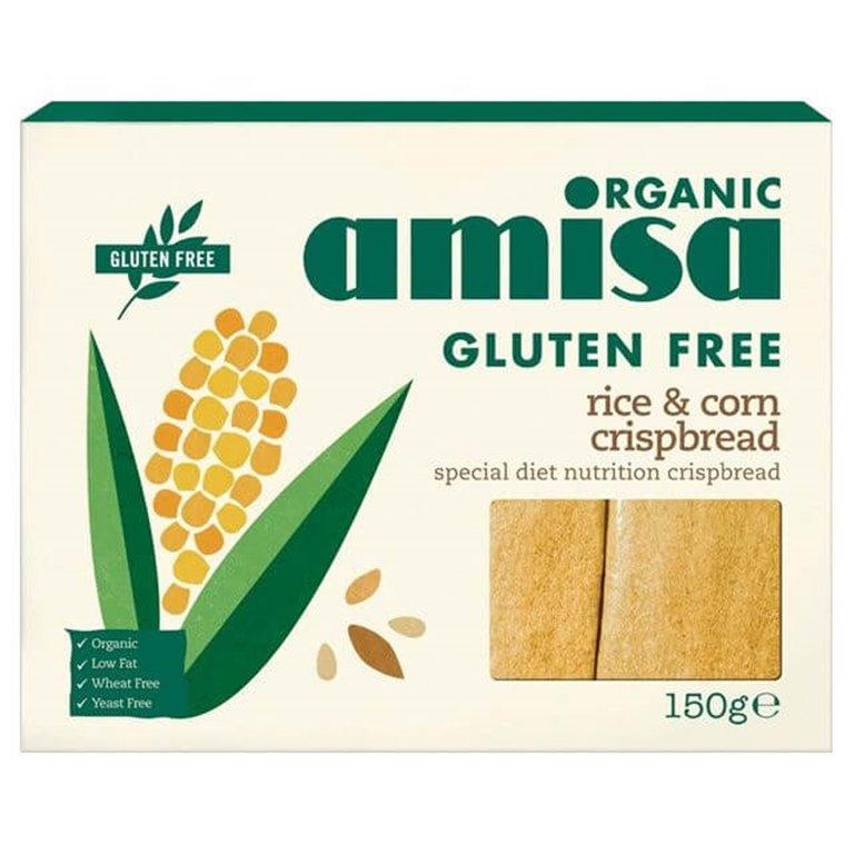 Tosta crujiente de maíz y arroz - Amisa