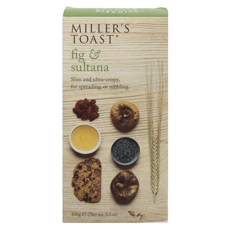 Tostaditas de Higos y Pasas 1,5kg. Miller's Toast. 1un., 1 ud