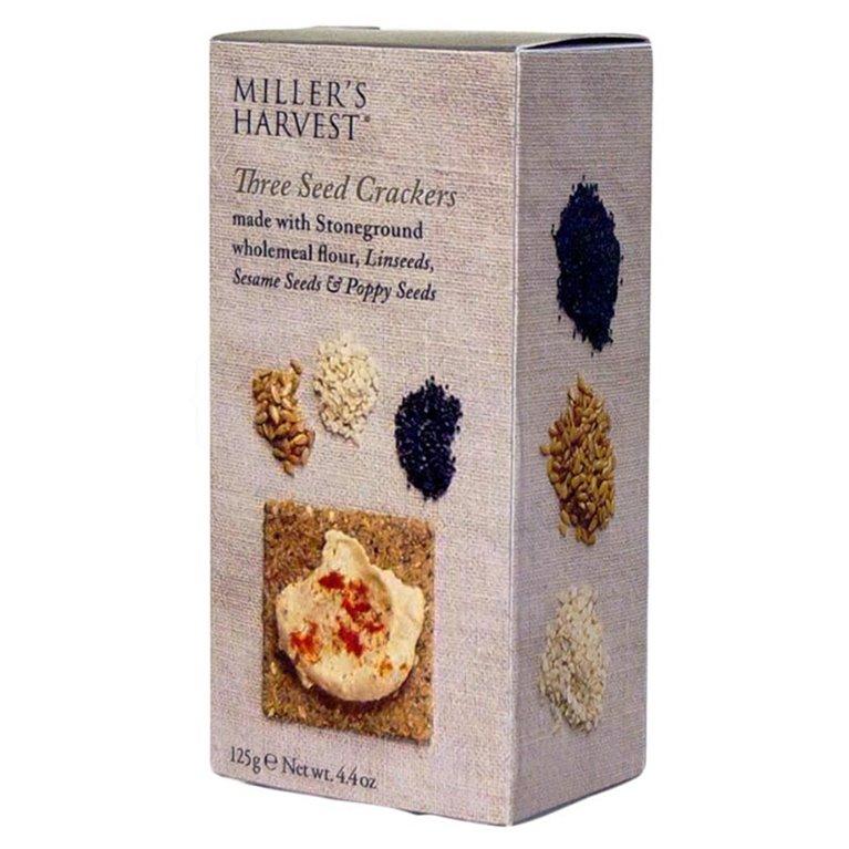 Tostaditas de tres semillas 125gr. Miller's Haverst. 12un., 1 ud