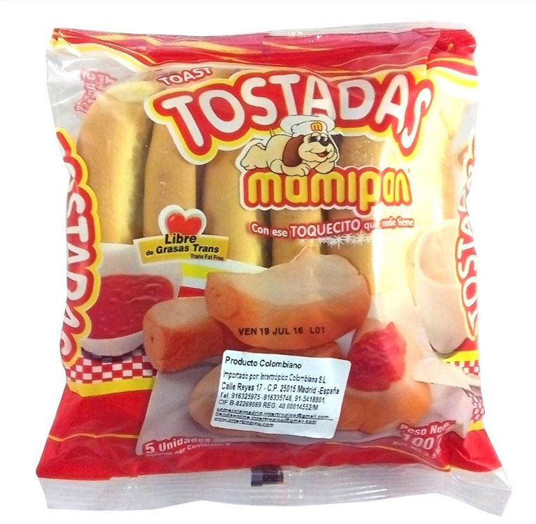 TOSTADOS MAMIPAN 100 GR