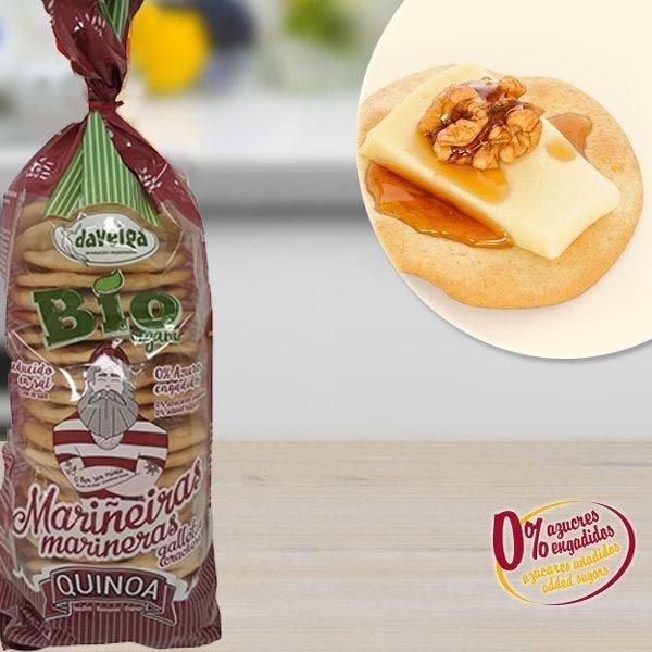 Tostas Marineras Quinoa