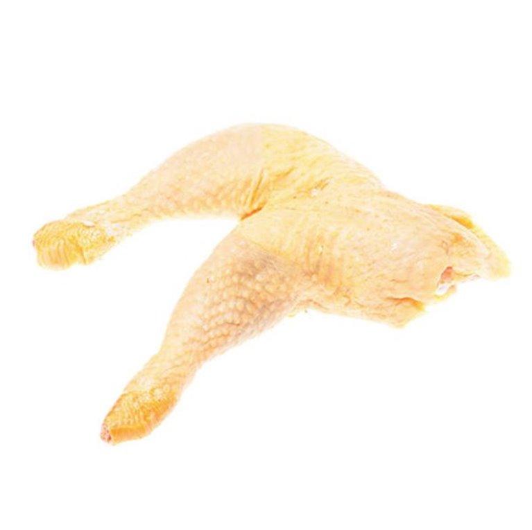 Cuartos traseros de pollo de corral