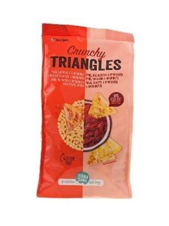 Triángulos de maíz, sarraceno y amaranto, 80 gr