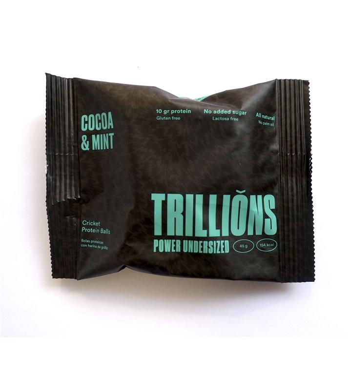 Triballs Chocolate y menta pack 8 unidades.