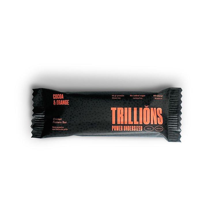Tribars chocolate con naranja pack 8 unidades
