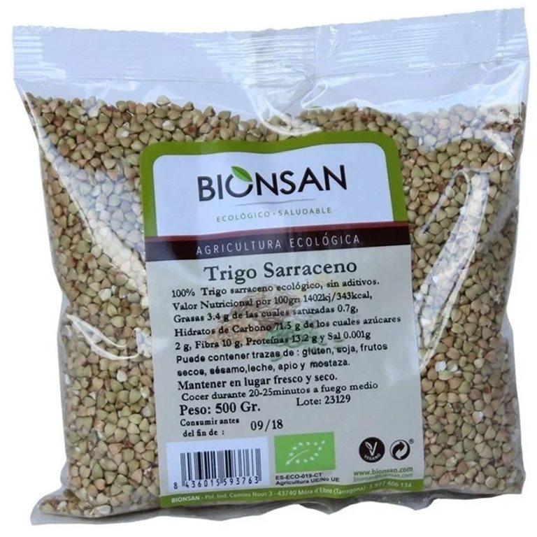 Trigo Sarraceno Grano Bio 500g