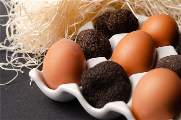 Trufa (tamaño huevo)
