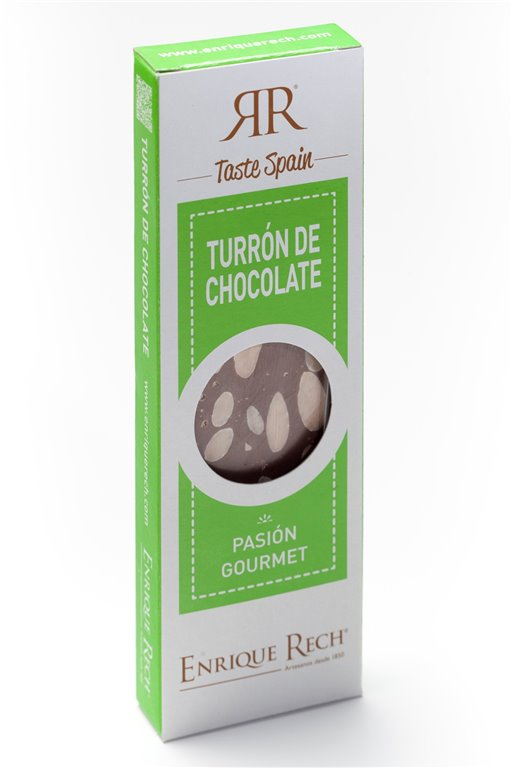 Chocolate and almond nougat Mini-gourmet 100 g