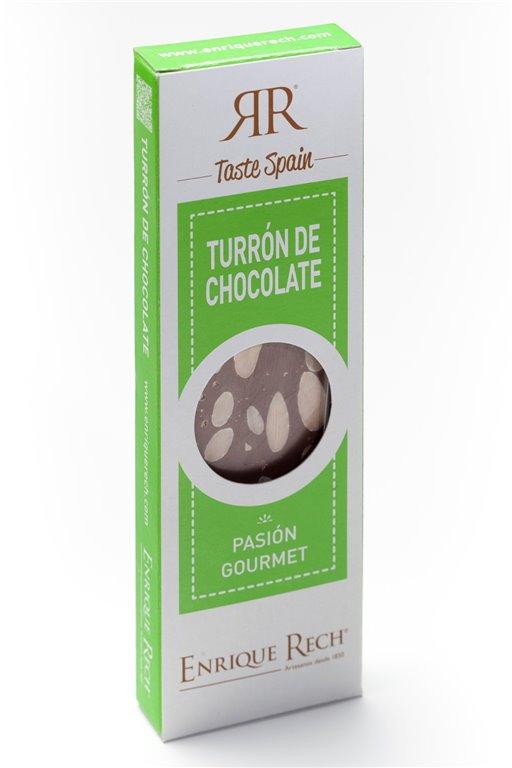 Turrón de Chocolate y almendras Mini-gourmet 100 g