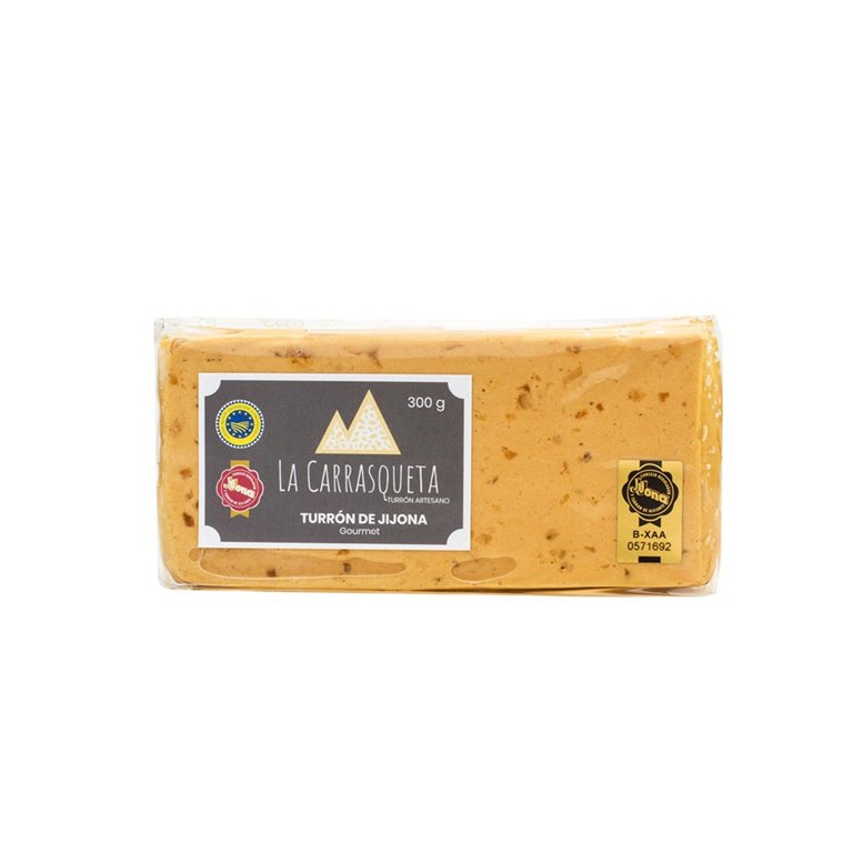 Turrón Jijona Artesano con 70% almendra, 300g - Gourmet