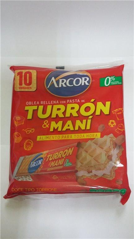 TURRON OBLEA ARCOR 250 GR