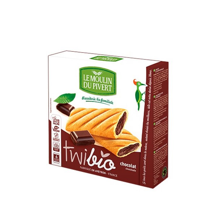 Twibio Delicias de Chocolate Bio Fairtrade 150g