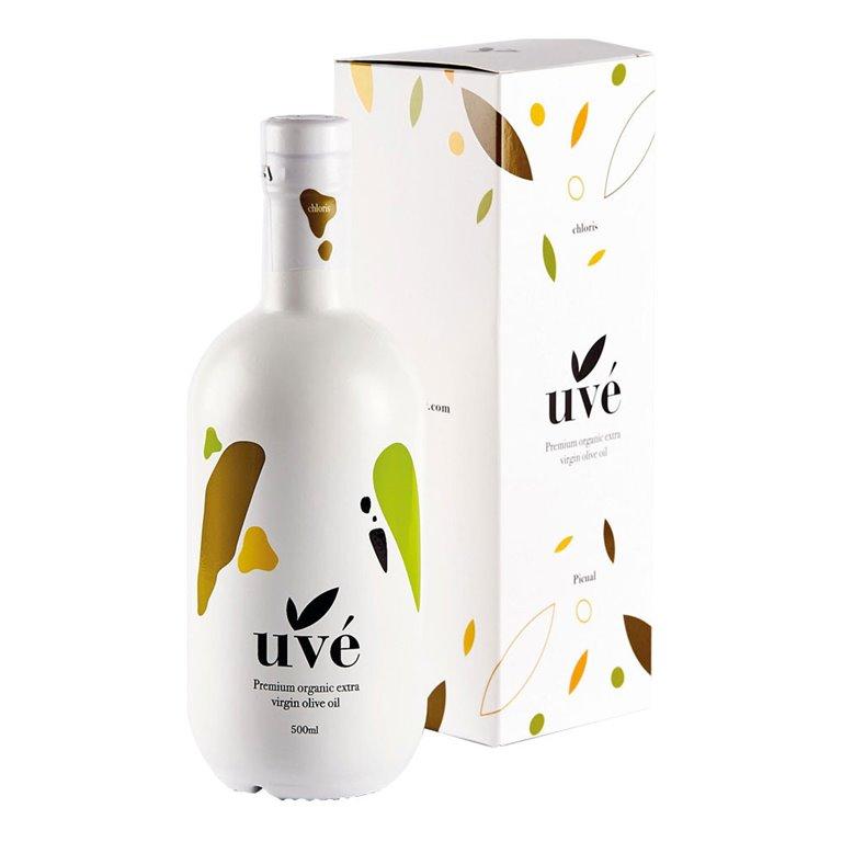 Uvé - Chloris - Orgánico - Picual - Estuche Botella 500 ml