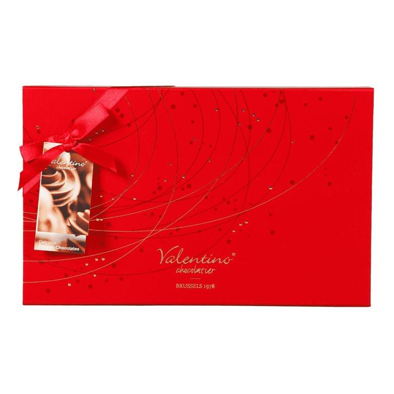 Valentino Chocolatier Bombonera Luxury Caja Roja 225g
