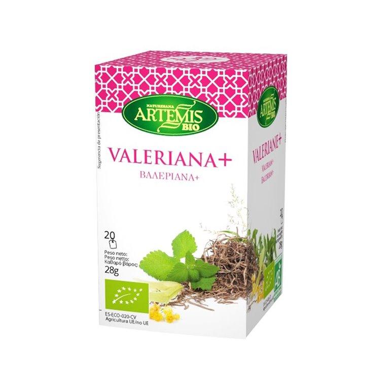 Valeriana Infusión Eco Artemis 20 Filtros