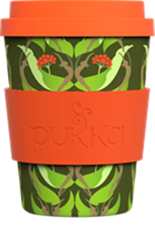 Vasos Pukka Bambú Ginseng  Reutilizable