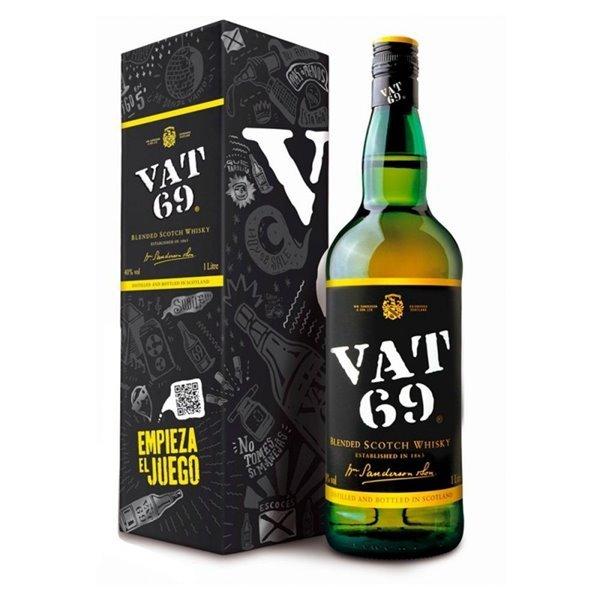 VAT 69 1,00 L. 40º