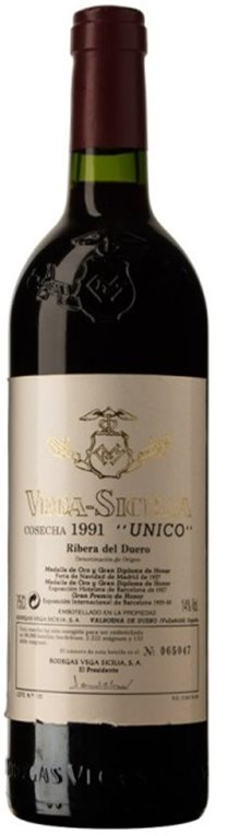 Vega Sicilia Único 1991