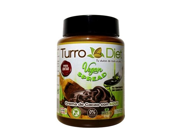 Vegan Spread. Crema de Cacao para untar con AOVE - Turrodiet