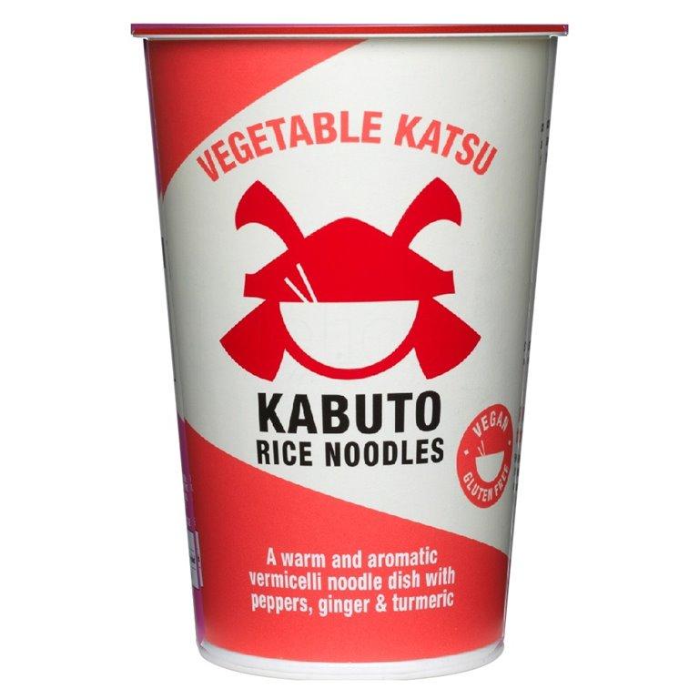 Vegetable Katsu 65gr. Kabuto Noodles. 6un., 1 ud