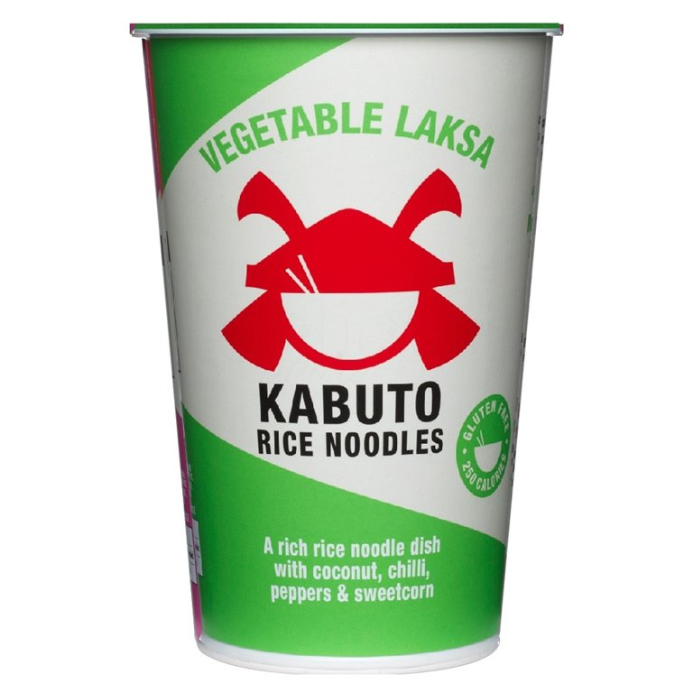 Vegetable Laksa 65gr. Kabuto Noodles. 6un., 1 ud