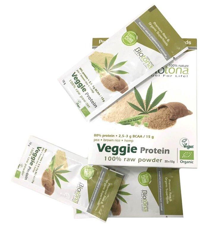 Veggie Protein Monodosis, 200 gr