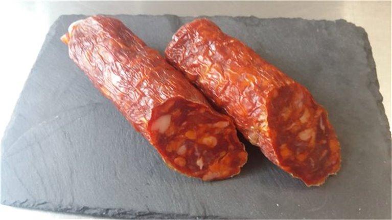 Iberian acorn-fed chorizo sausage candle, 1 kg