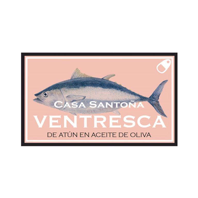 Ventresca de Atún Claro en Aceite de Oliva, 1 ud