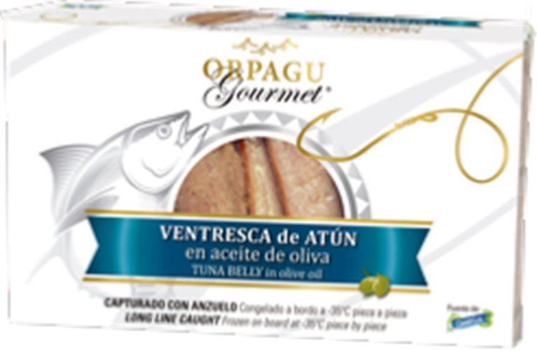 Ventresca de atún de anzuelo Orpagu