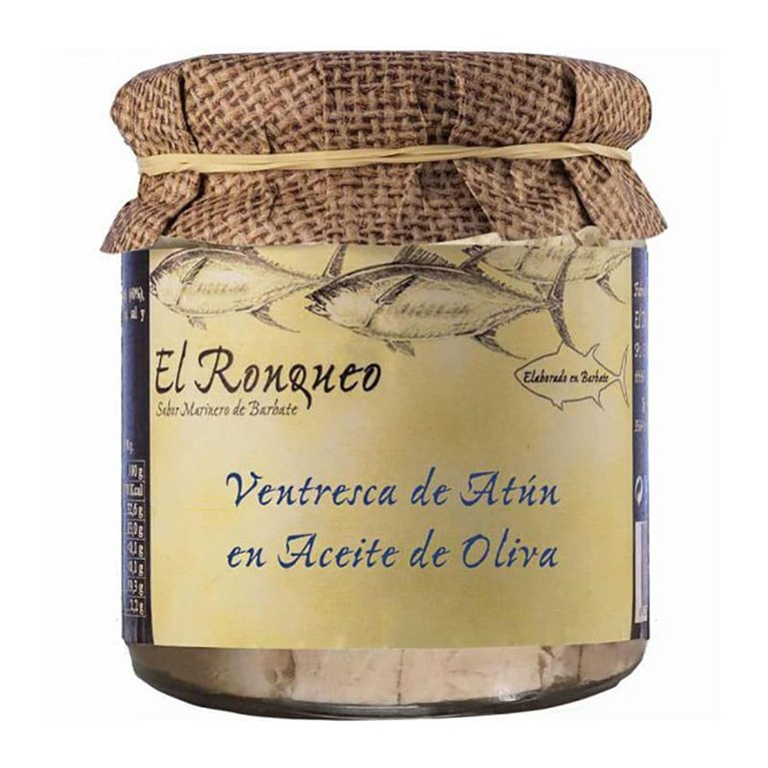 Ventresca de Atún en Aceite de Oliva. El Ronqueo